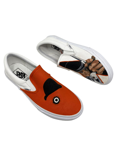 "Vans Slip-On ""Clockwork Orange"""