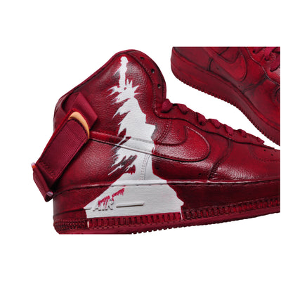 "Nike Air Force 1 High ""Red Liberty For Some"""