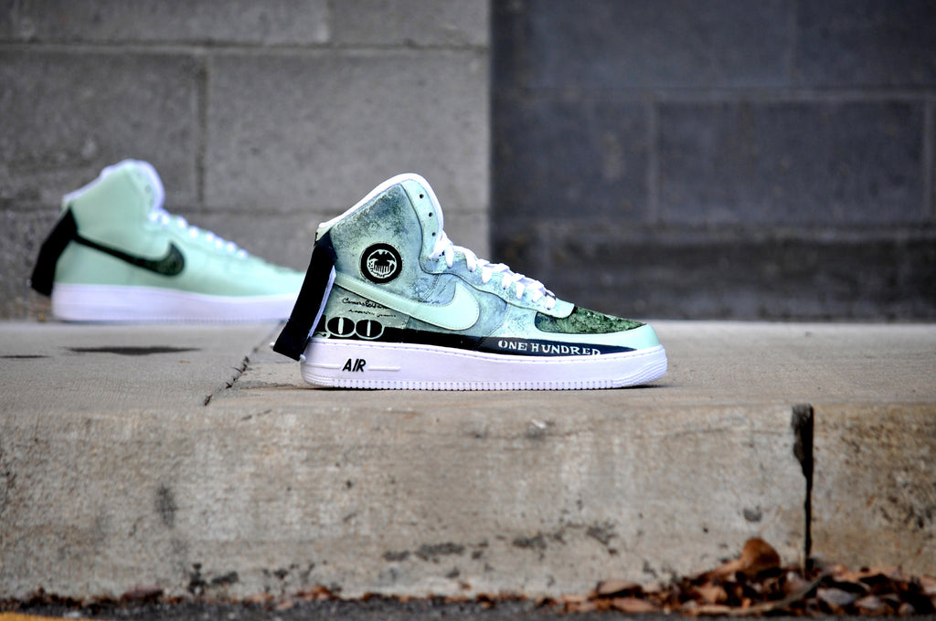 "Nike Air Force 1 ""Old Money"" Size 13"