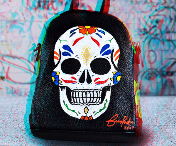 "The ""Play Dead and Smile"" Mini Backpack"