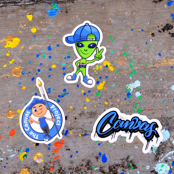 The Canvas Sticker Pack