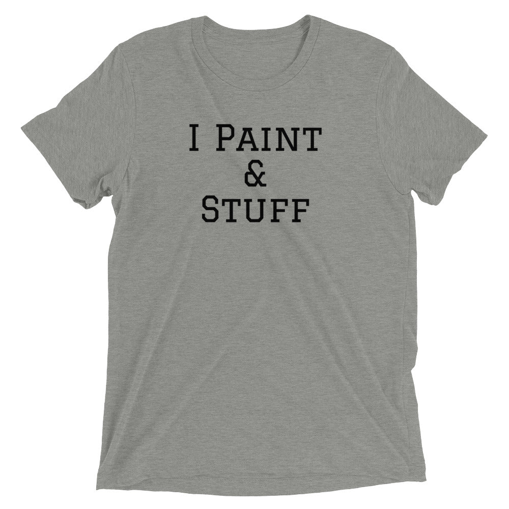 Canvas I Paint & Stuff Comfy Tee Unisex