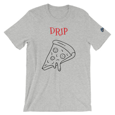 Canvas Drip Pizza Unisex T-Shirt