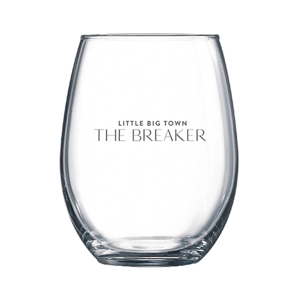 The Breaker Stemless Wine Glass