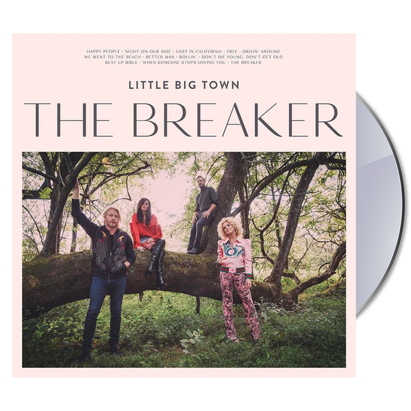 The Breaker CD