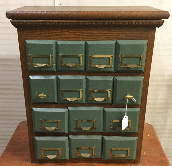 Small 14 Drawer Cabinet