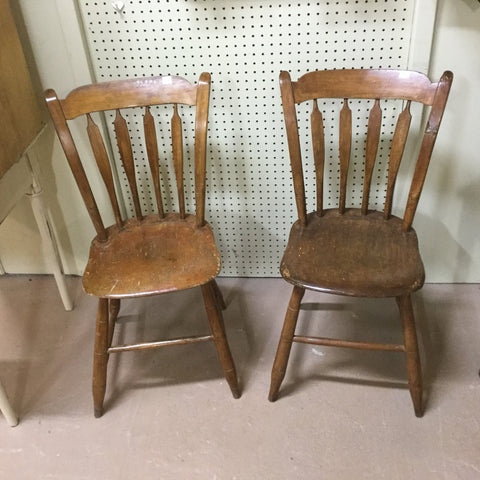 Pair of Arrowback Chairs
