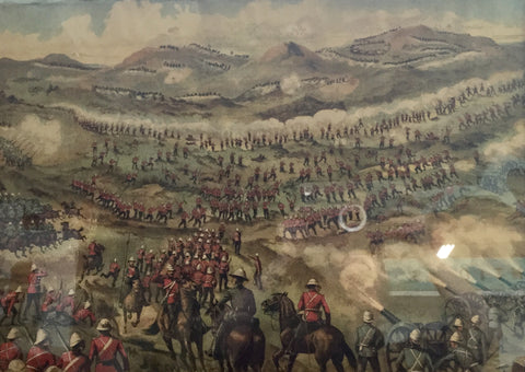 1899 Battle of Belmont Print