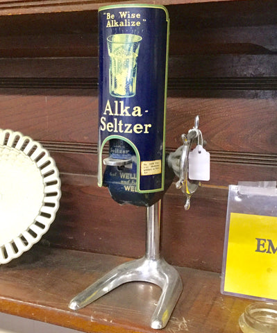 1930's Alka Seltzer Dispenser