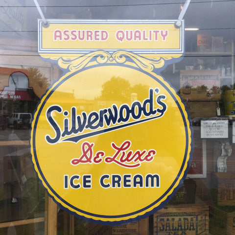 Silverwoods Ice Cream Sign