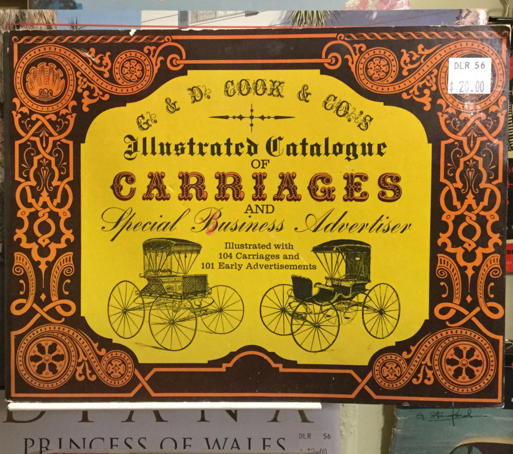Illustrated Catalogue of Carriages Book