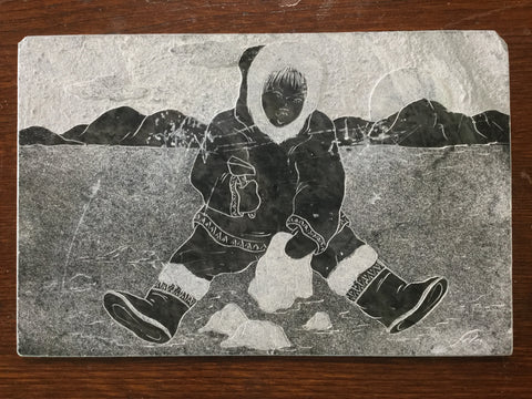 Inuit Carved Picture
