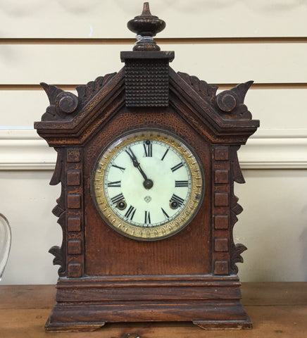Ansonia Wooden Clock