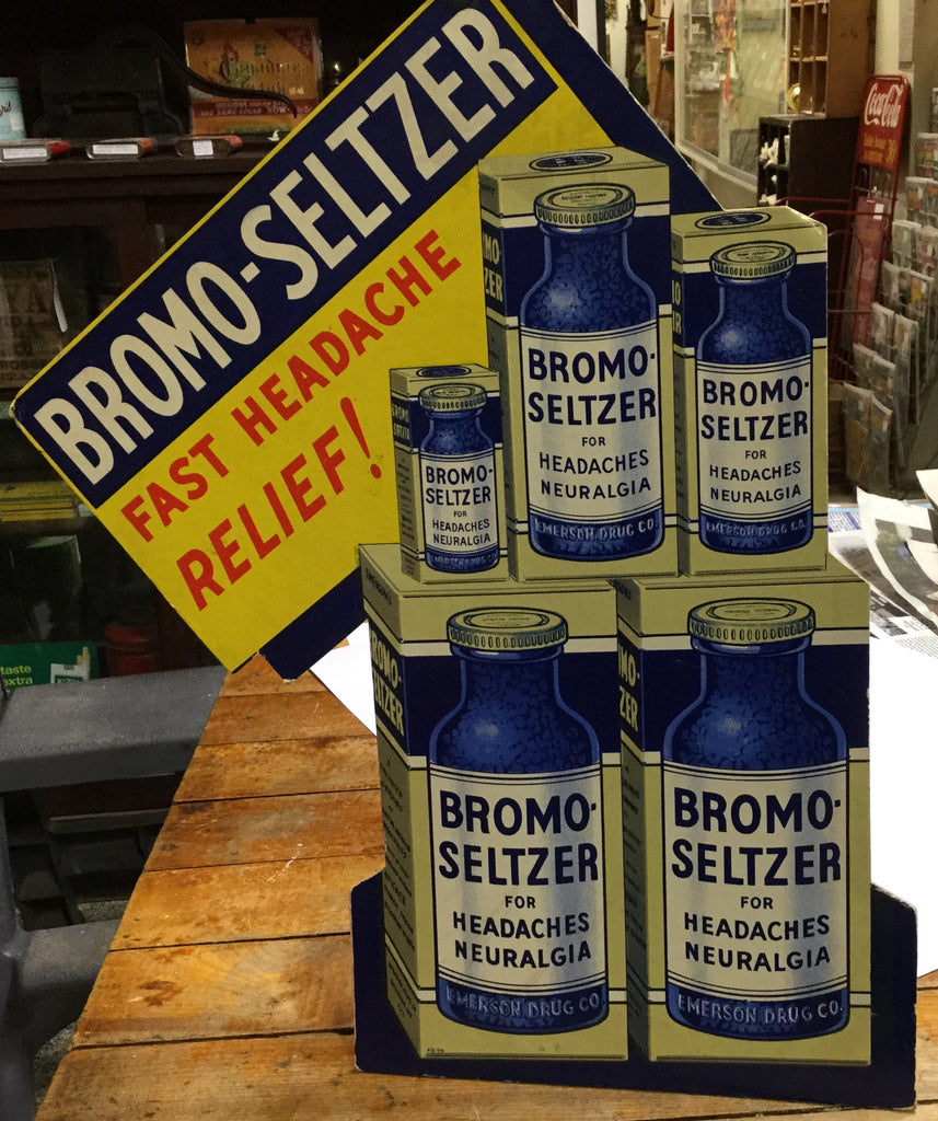 Alka Seltzer Advertising Display