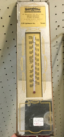 Sunshine Uniforms Thermometer