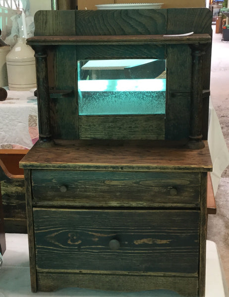 C. 1900 Doll's/Miniature Oak Sideboard