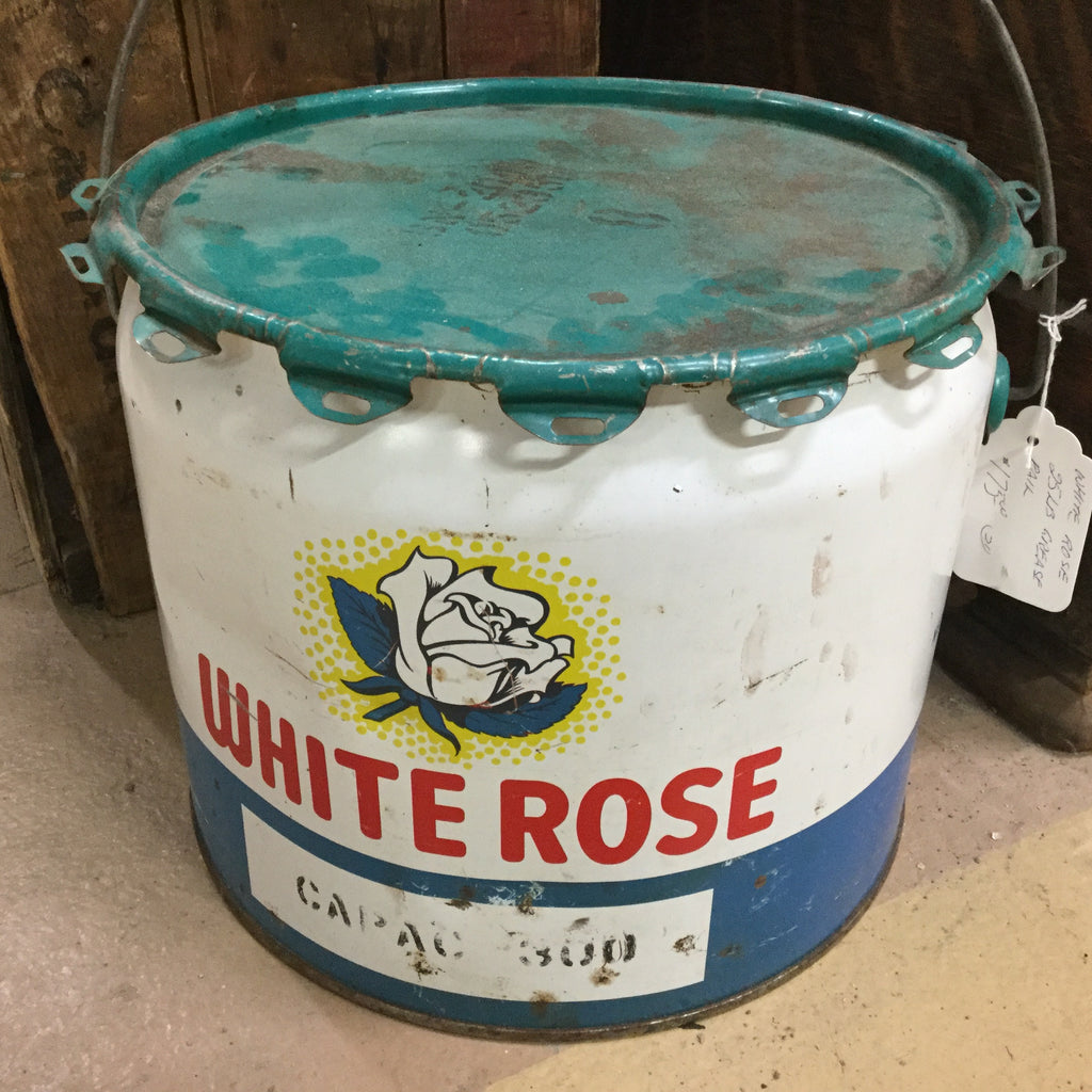 White Rose Grease Tin