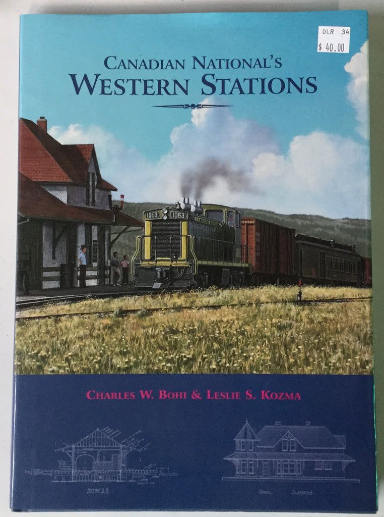 Canadian National's Western Stations Book