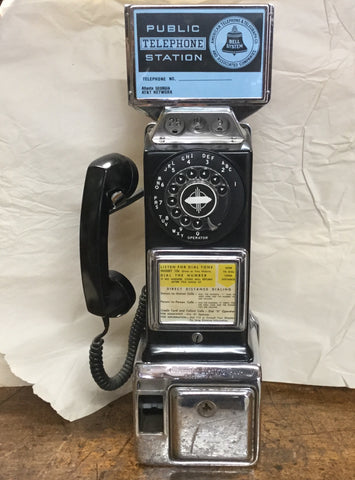 1950's Pay Telephone
