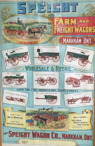Speight Wagon Co Poster
