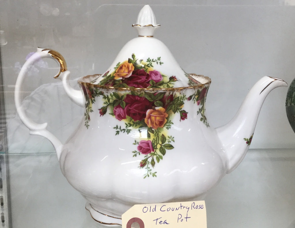 Old Country Rose Teapot