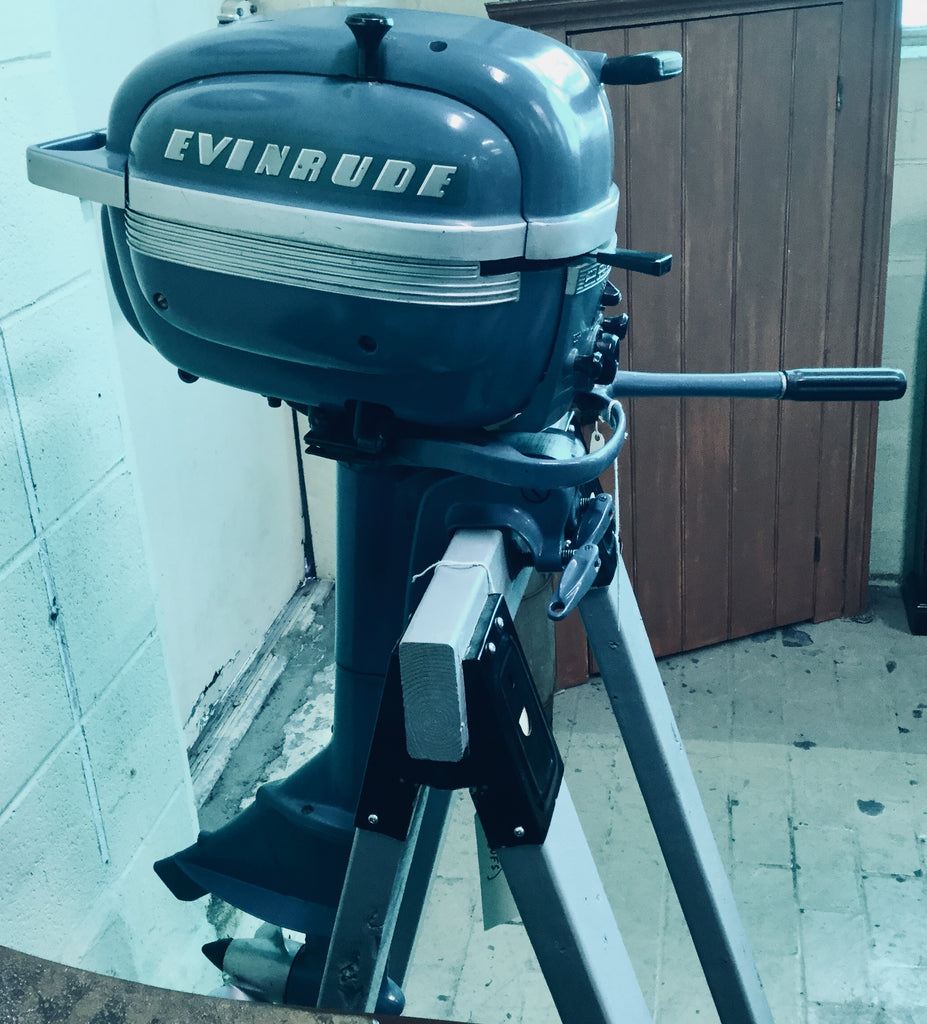 1950's Evinrude Outboard Motor