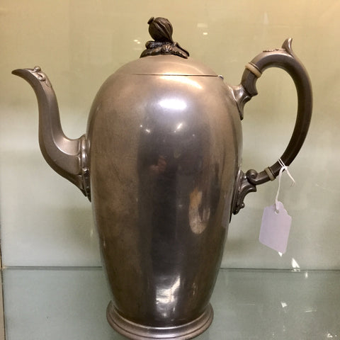 1842 Pewter Coffee Pot