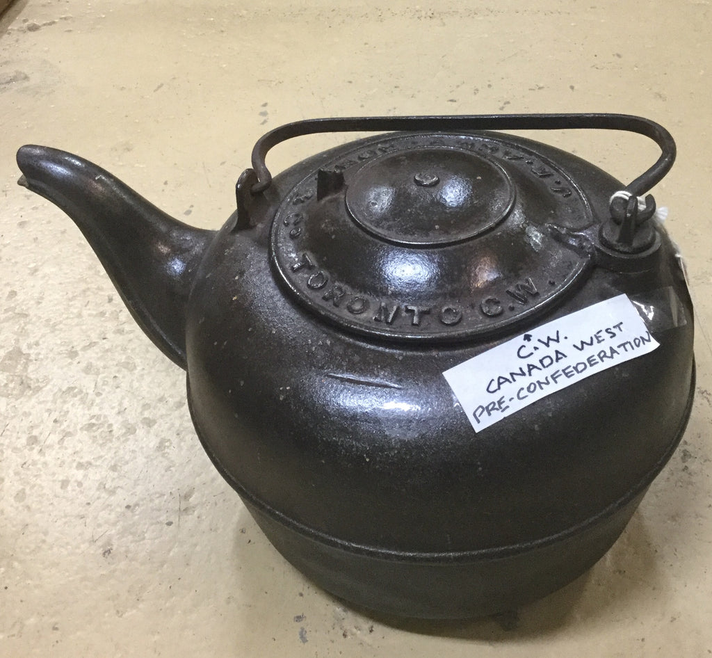 Canada West Cast Iron Kettle