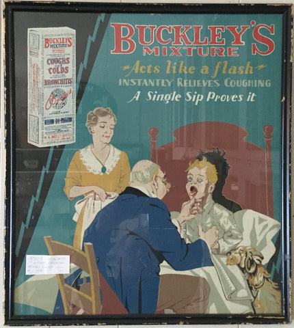Buckley's Cough Syrup Advertisement