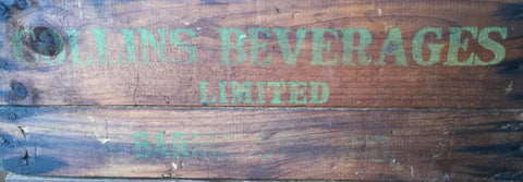 Barrie Ontario Collins Beverages Crate