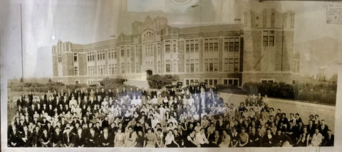 1936 Saskatoon Panoramic School Photo