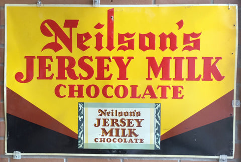 Neilson's Chocolate Metal Sign