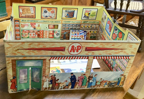 Toy A & P Supermarket Store