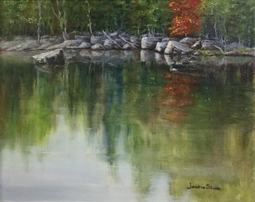 Reflections Painting by Jackie Sture