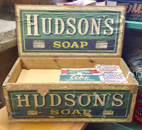 1920 Hudson's Soap Box Display