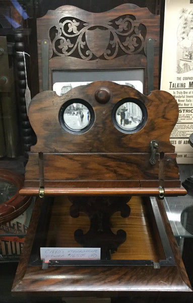 Victorian Stereoscope Viewer