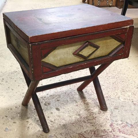Painted Storage Stand