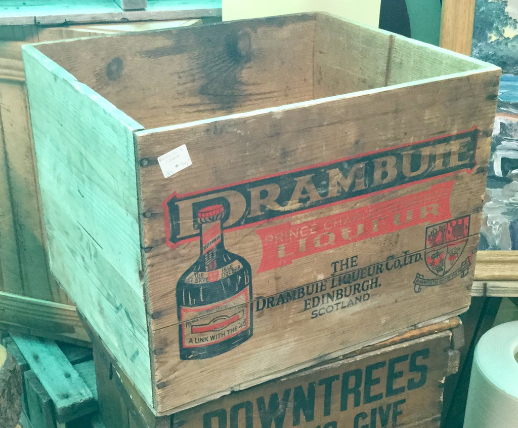 Wooden Drambuie Crate