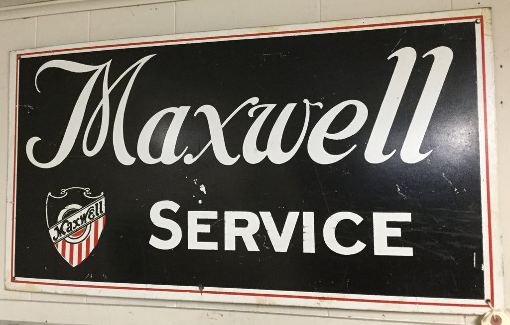 Maxwell Service Sign