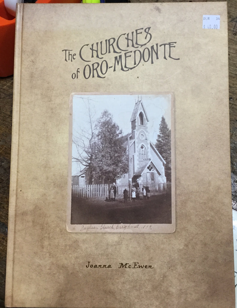 The Churches Of Oro-Medonte Book