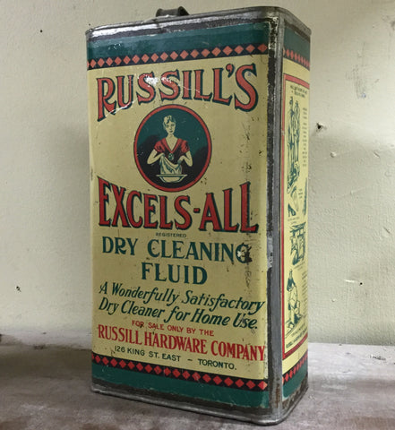 Russill's Cleaning Fluid Tin