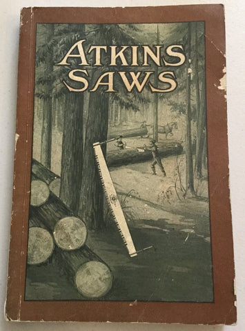 1914 Atkins Saws Catalogue