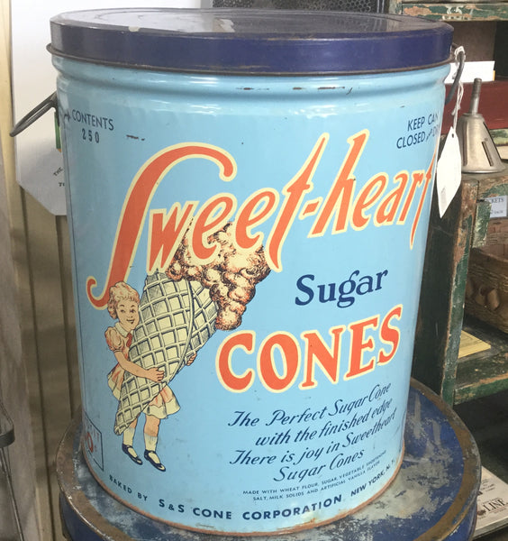 Sweetheart Cones Tin