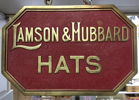 Brass Hat Sign