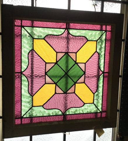 Victorian Stain Glass Window