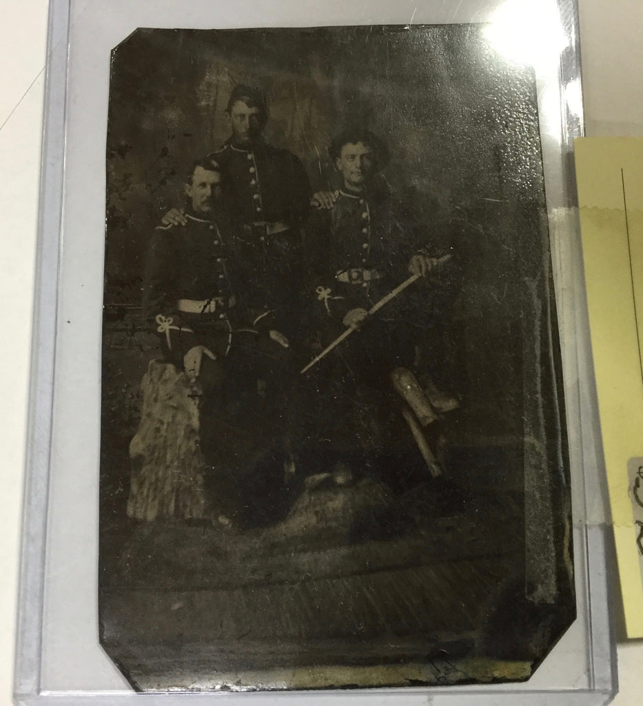Fenians Raid Tin Type