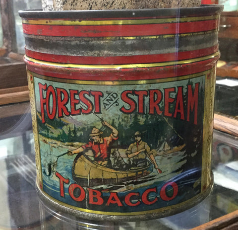 Tobacco Tin Forest and Stream