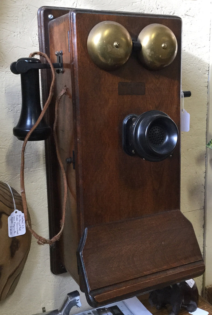 Telephone, Wooden Farm Phone