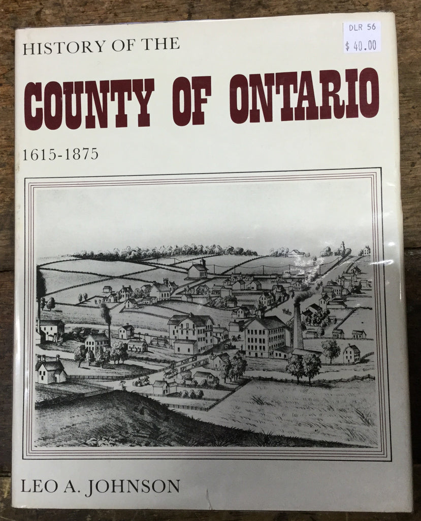 History of the County of Ontario Book