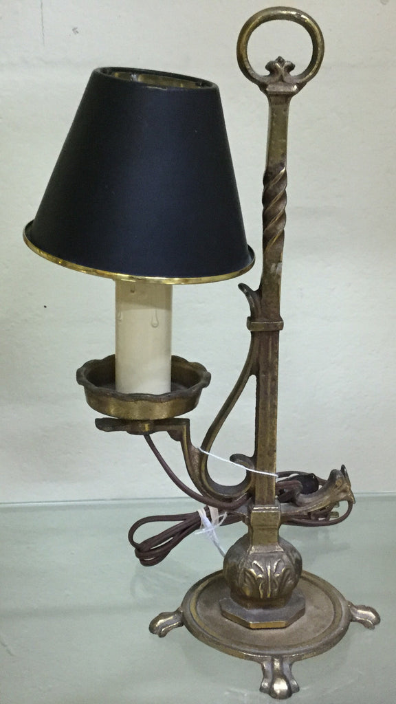 Spanish Revival Candlestick Lamp